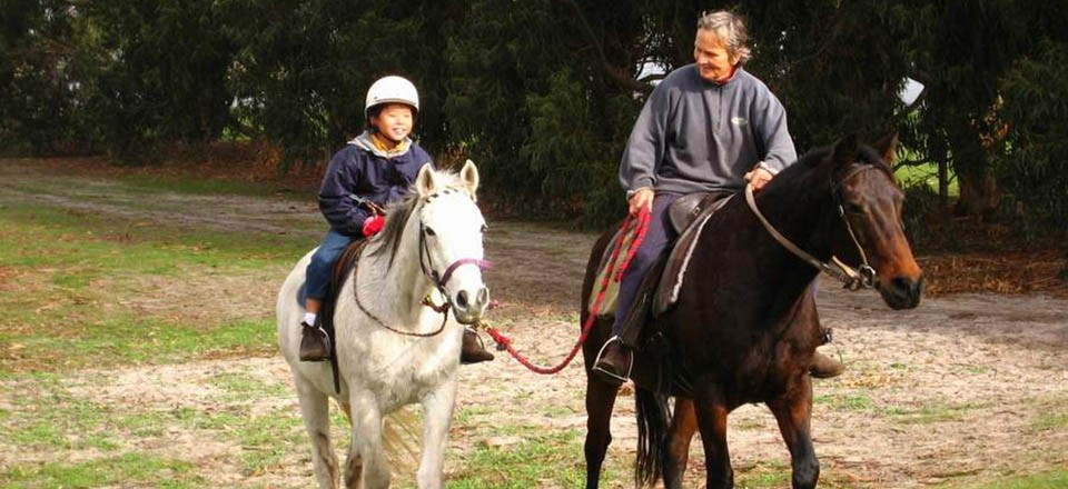 Book some horse riding at Glendale Riding School