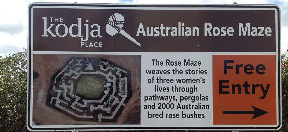 The Rose Maze is conveniently situated next to Kodja Place